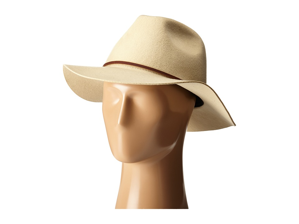 Brixton - Wesley Fedora (Bone) Traditional Hats