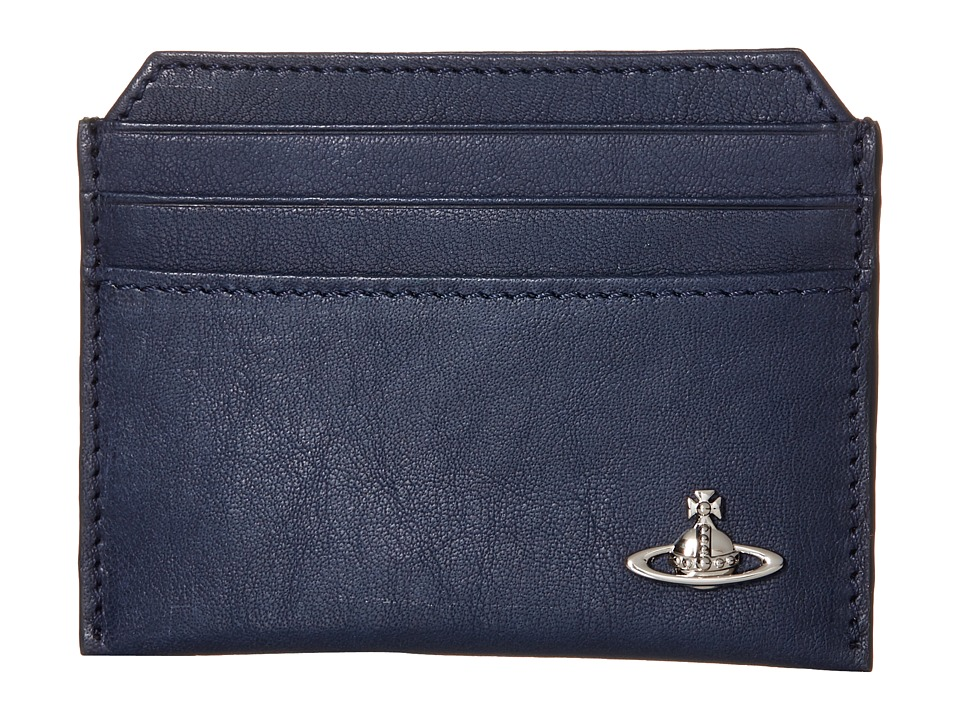 Vivienne Westwood - Freddie Card Holder (Blue) Credit card Wallet