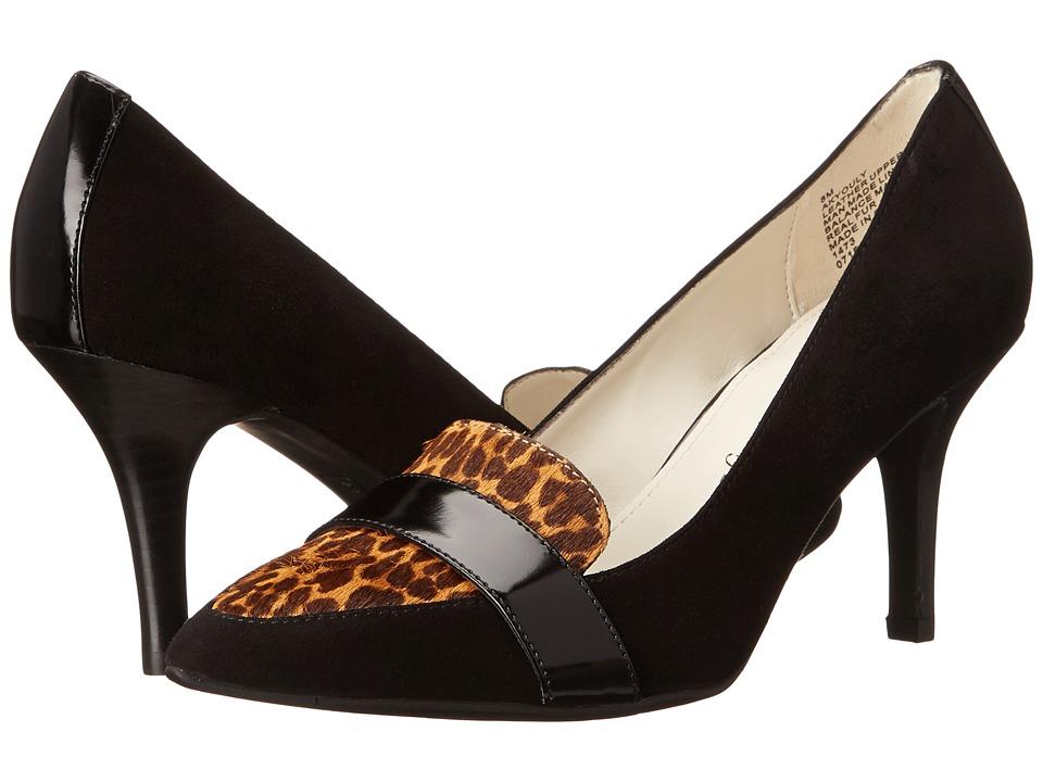 Anne Klein - Youly (Black Multi Suede) High Heels