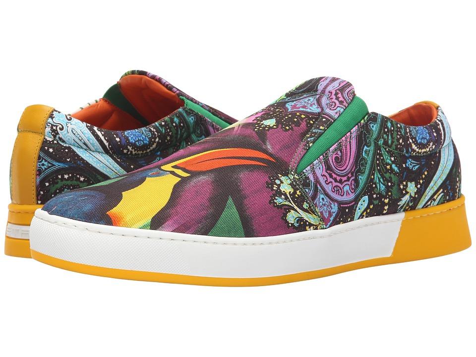 Etro - Toucan Paisley Slip-On (Multi Print) Men's Slip on Shoes