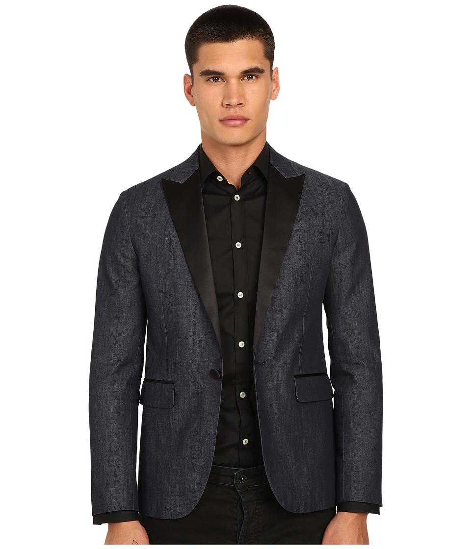 DSQUARED2 - Tokyo Canadian Tuxedo Jacket (Blue) Men's Coat