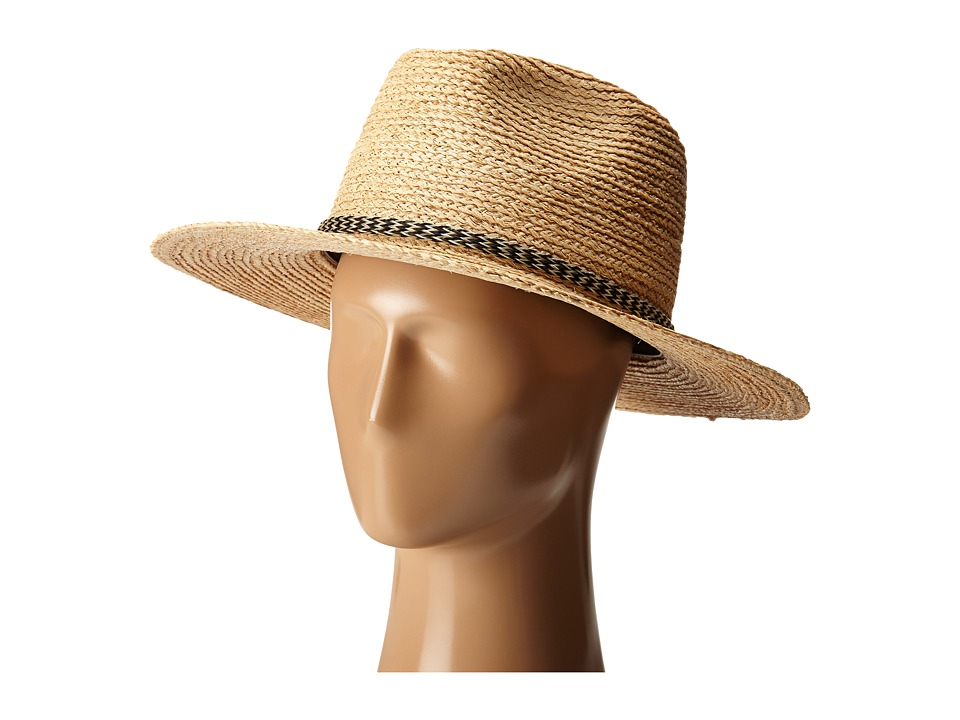 Brixton - Leo Fedora (Light Tan) Fedora Hats