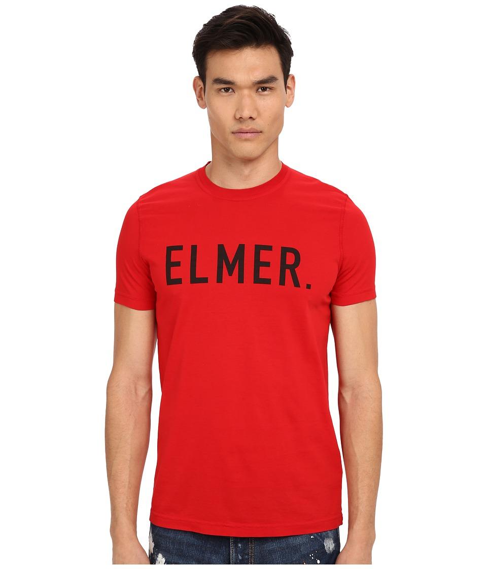 DSQUARED2 - Elmer the Canadian Hunter T-Shirt (Red) Men's T Shirt