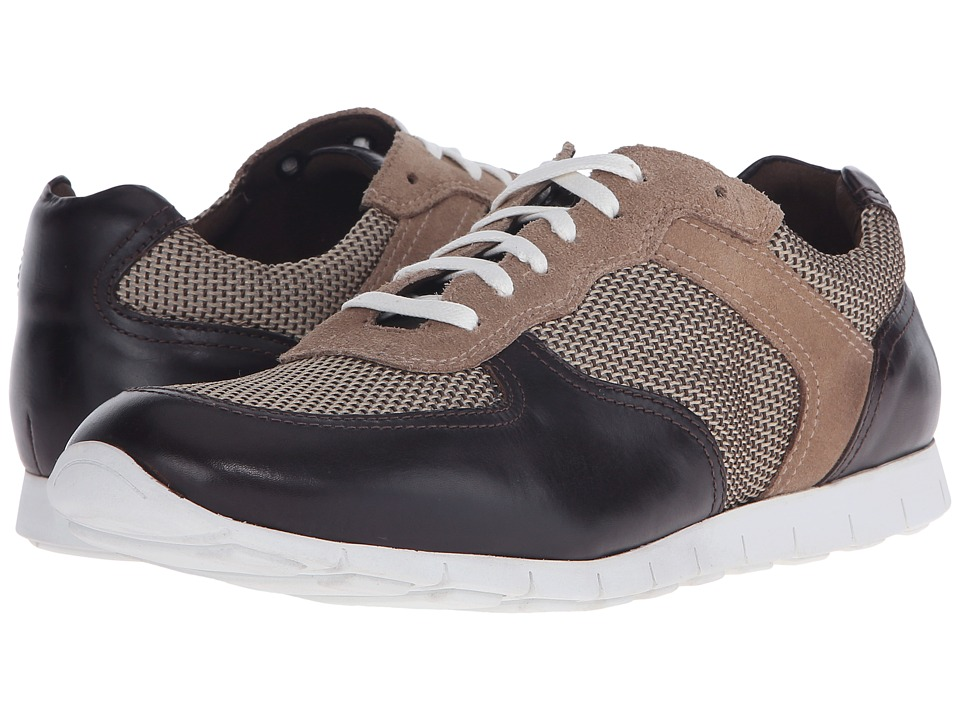 Donald J Pliner - Hanley (Brown) Men's Lace up casual Shoes