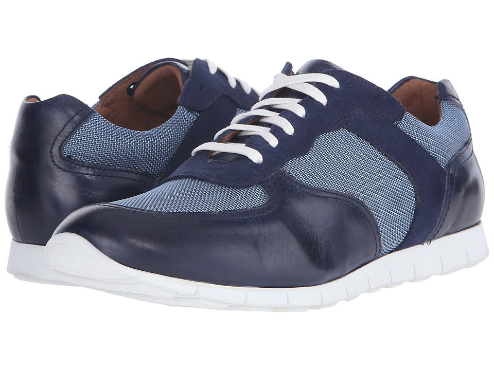 Donald J Pliner - Hanley (Light Blue) Men's Lace up casual Shoes