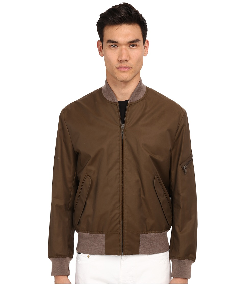 Marc Jacobs - Technical Twill Bomber Jacket (Army) Men's Coat
