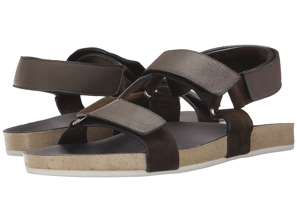 Marc Jacobs Summer Nappa Strappy Sandal (Grey) Men