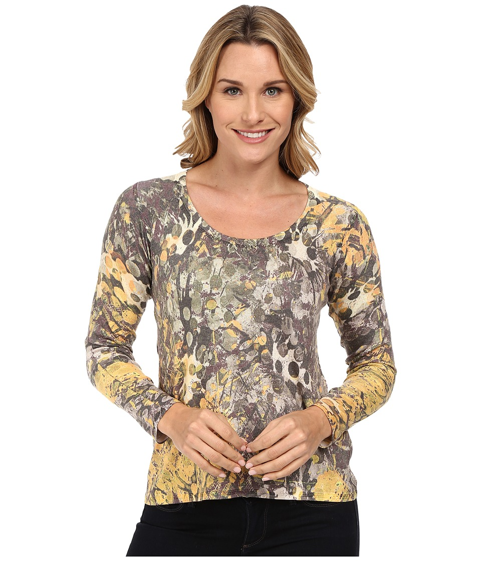 Nally & Millie - Long Sleeve Top (Multi) Women's T Shirt