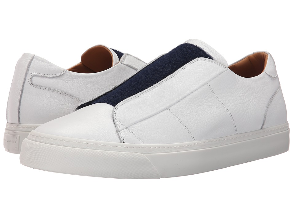 Marc Jacobs - Summer Nappa Tongue Sneaker (Navy) Men's Shoes