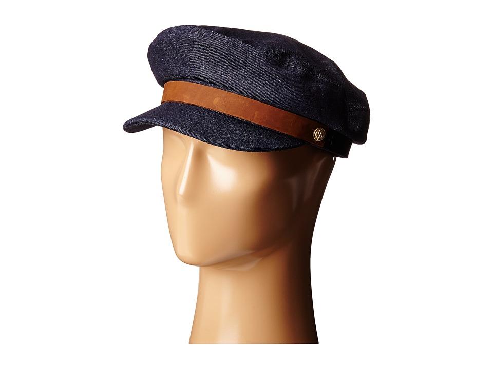 Brixton - Fiddler Cap (Dark Denim) Caps