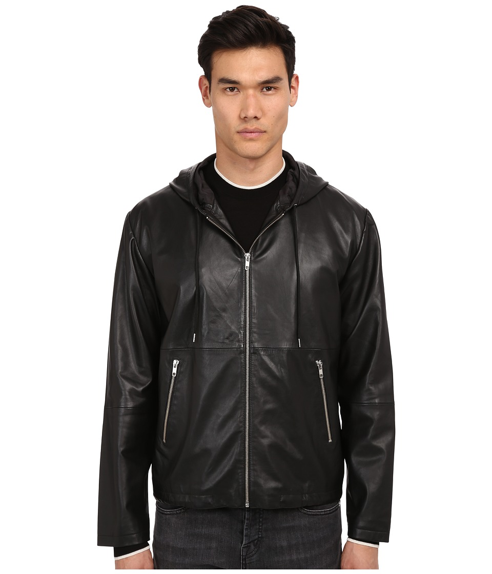McQ - Hooded Jacket (Darkest Black) Men's Coat