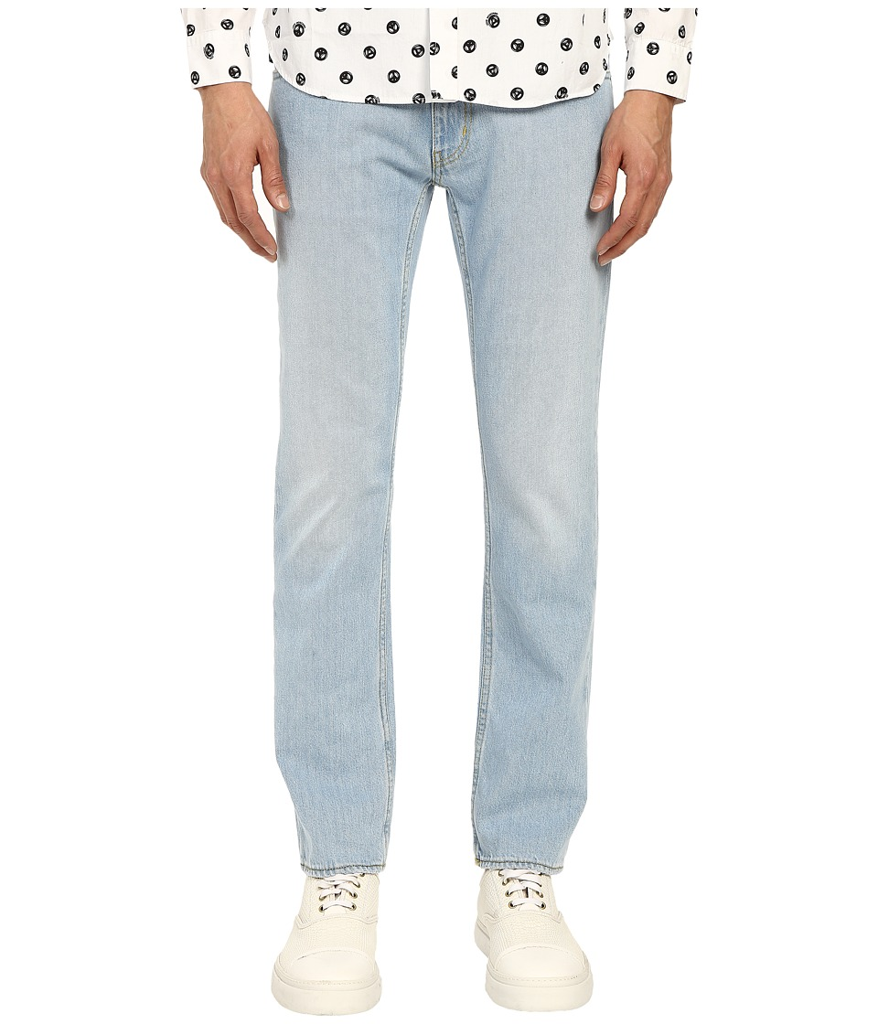 LOVE Moschino - Five-Pocket Jeans with Back Pocket Detail (Denim) Men