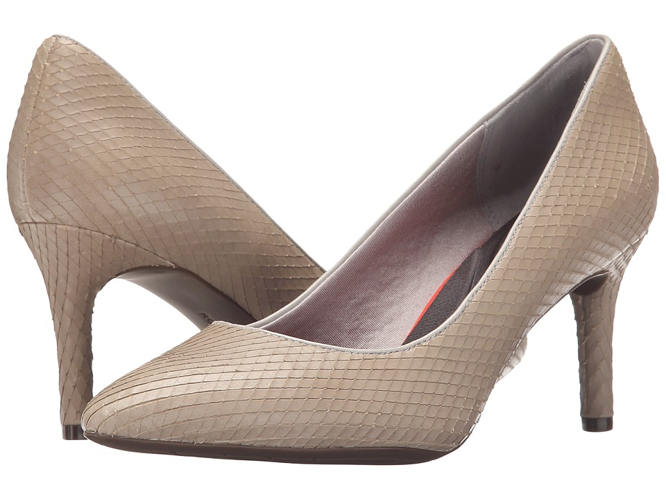 Rockport - Total Motion 75mm Pointy Toe Pump (Smog Diamond Snake) High Heels