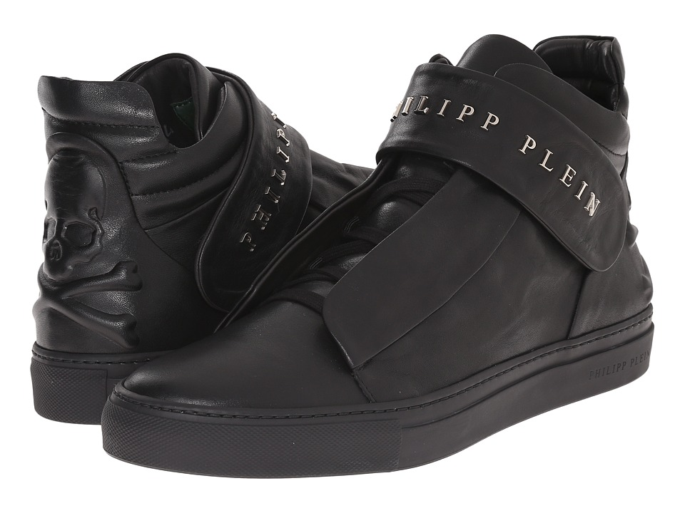 Philipp Plein - Back It Up Sneaker (Black) Men's Shoes