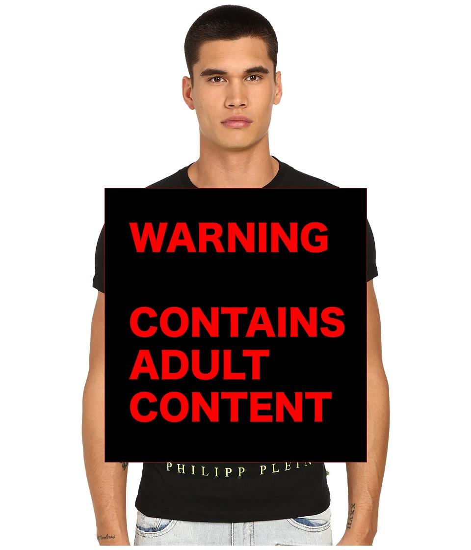 Philipp Plein - F***ing Rich T-Shirt (Black/Yellow) Men's T Shirt