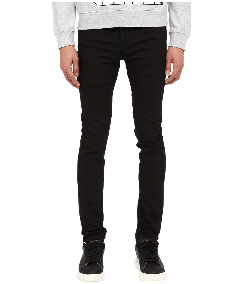 McQ - Strummer 02 Denim (Darkest Black) Men's Jeans