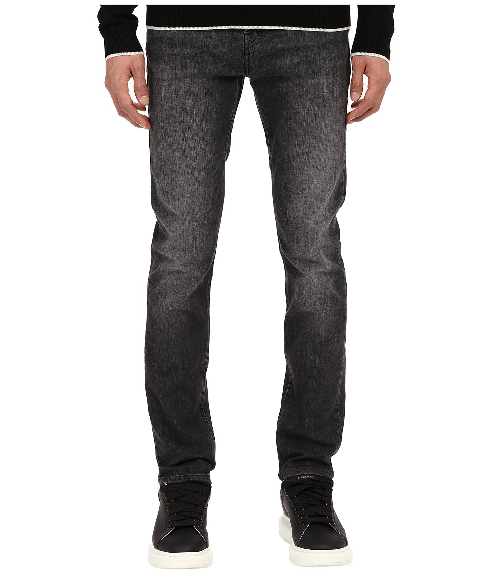 McQ - Strummer Jeans (Washed Dark Grey) Men's Jeans