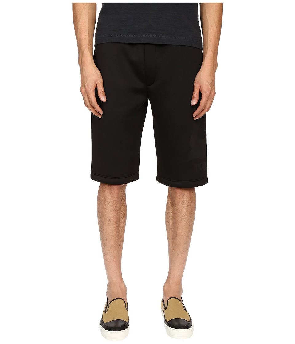 McQ - Dart Sweatshorts (Darkest Black) Men's Shorts