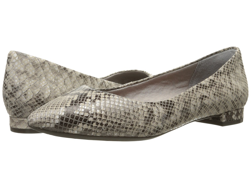 Rockport - Total Motion Adelyn Ballet (Roccia Python) Women's Dress Flat Shoes