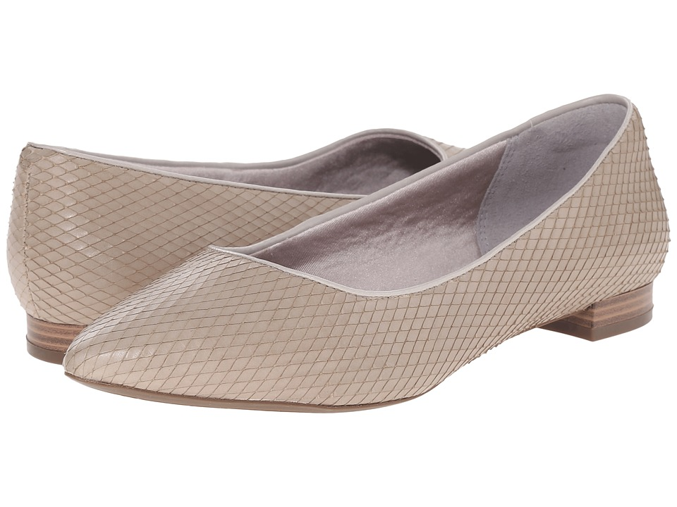 Rockport - Total Motion Adelyn Ballet (Smog Diamond Snake) Women's Dress Flat Shoes