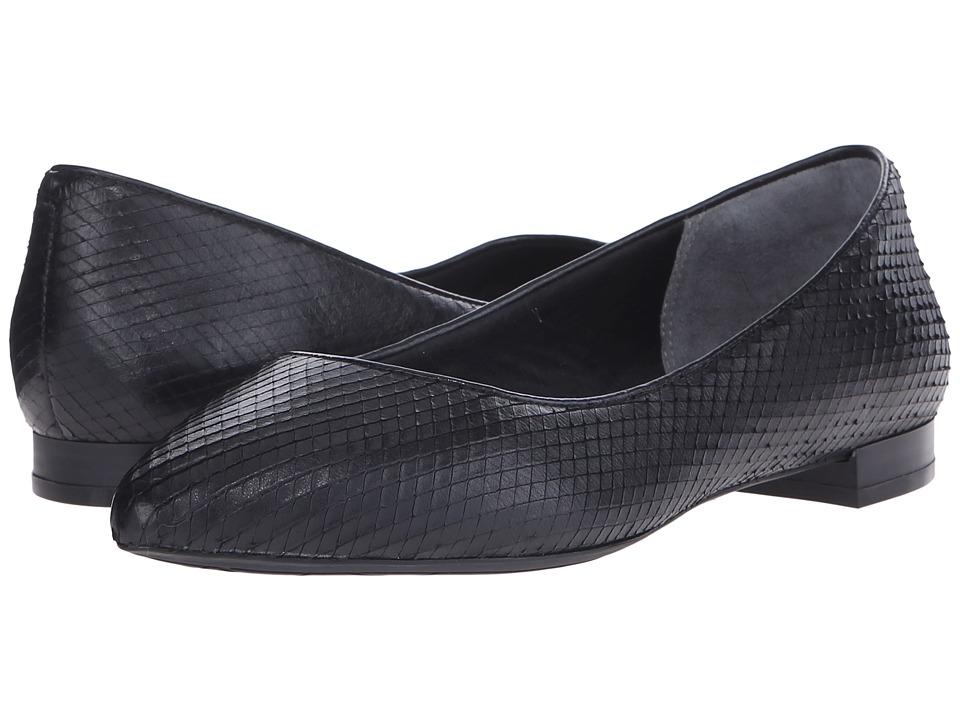 Rockport - Total Motion Adelyn Ballet (Black Diamond Snake) Women's Dress Flat Shoes