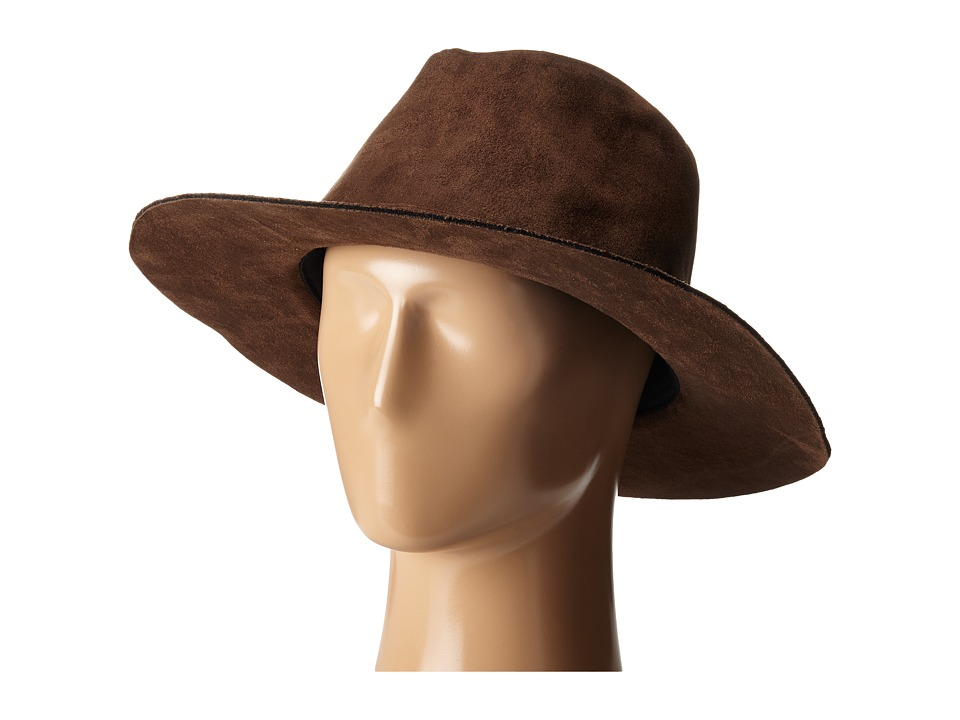 Brixton - Highland Fedora (Brown) Fedora Hats