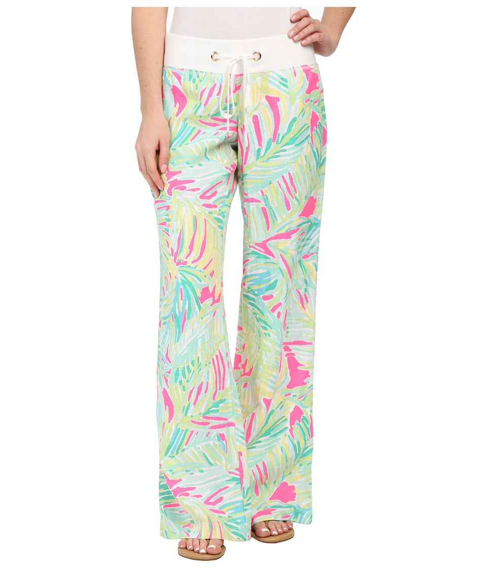 Lilly Pulitzer - Beach Pants (Tropical Pink Tropical Storm) Women's Casual Pants