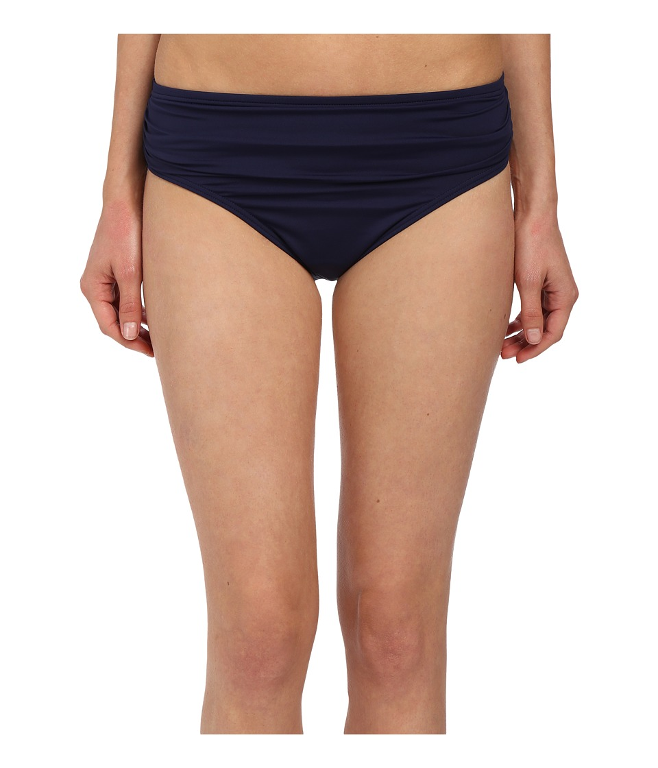Tommy Bahama - Pearl Solids High Waist Sash Pants (Mare Navy) Women's Swimwear