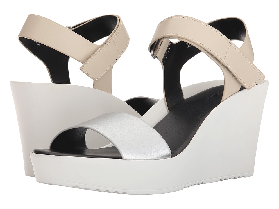 Charles by Charles David - Camp (Alabaster/Silver) Women's Wedge Shoes