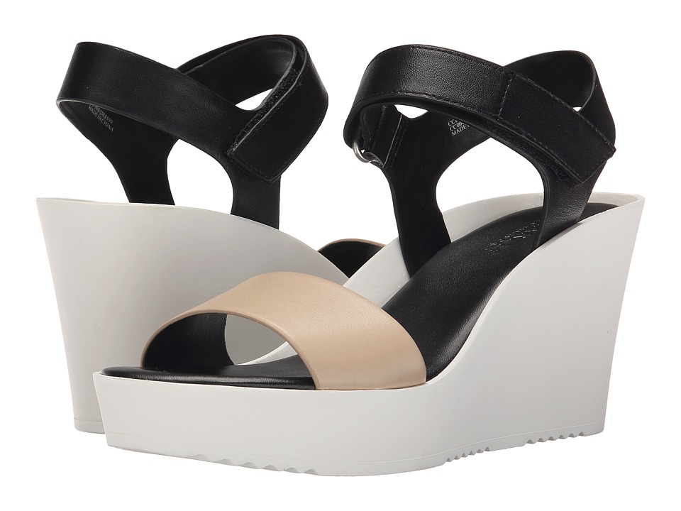 Charles by Charles David - Camp (Black/Nude) Women's Wedge Shoes