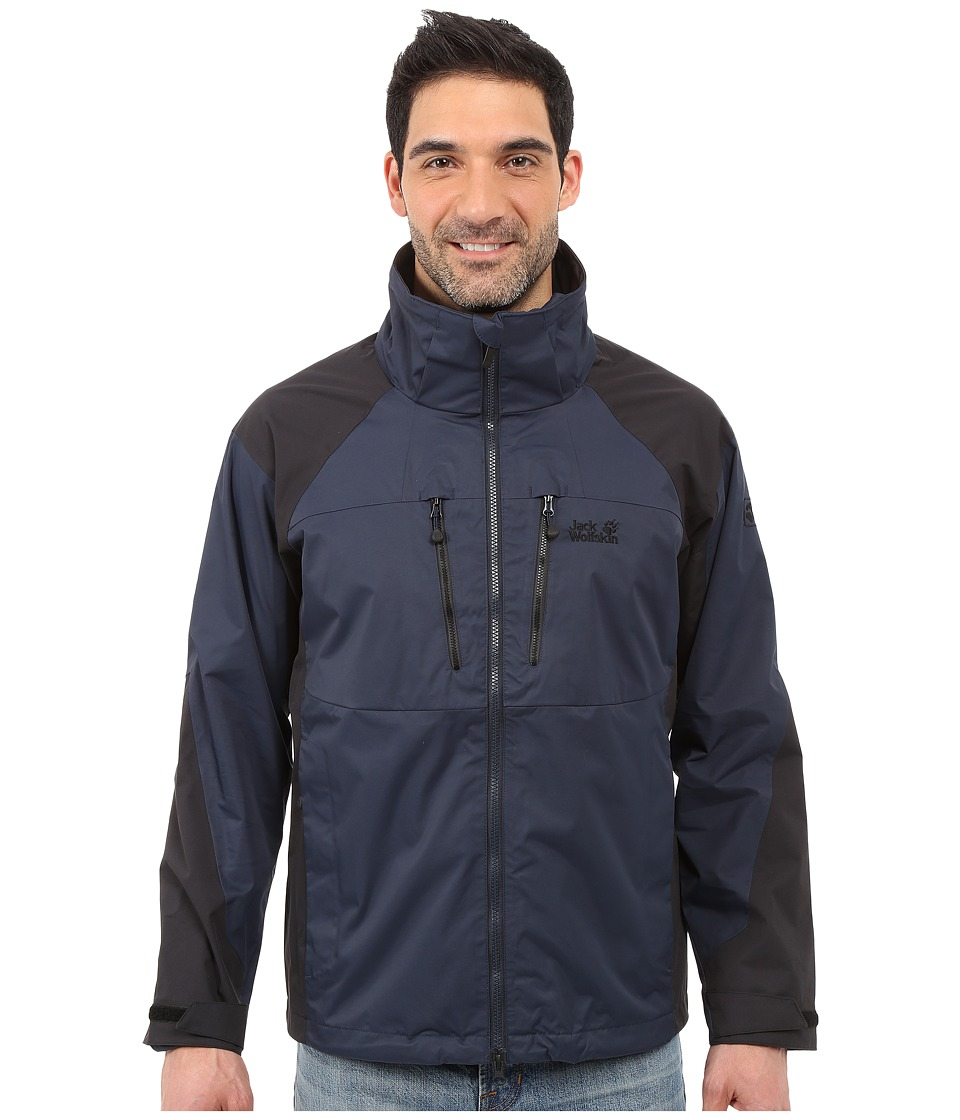 Jack Wolfskin - Jasper Xt Jacket (Night Blue) Men's Coat