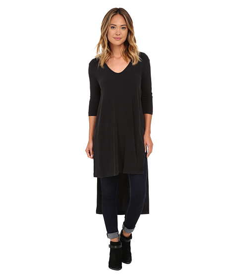 Free People - Super Cycle Jersey Bad Girls Tunic (Black) Women's Dress