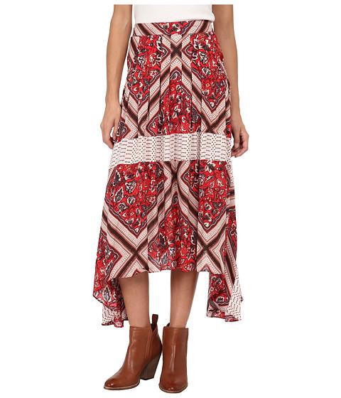 Free People - Paradise Skirt (Pimento Combo) Women's Skirt