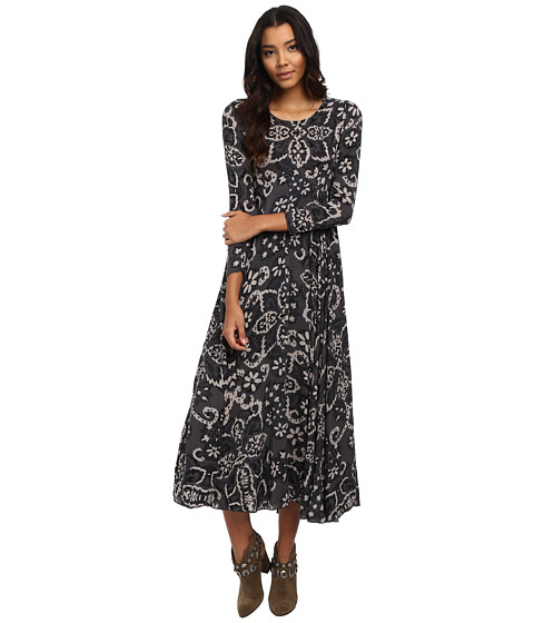 Free People - First Kiss Dress (Shark Combo) Women's Dress