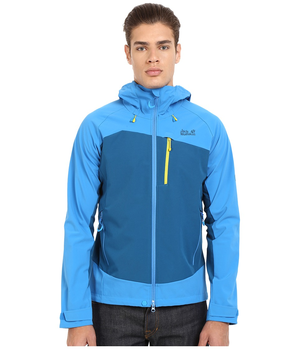 Jack Wolfskin - Gravity Flex Jacket (Moroccan Blue) Men's Jacket