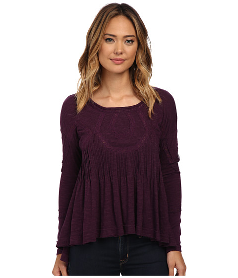 Free People - New Hope Babydoll (African Violet) Women