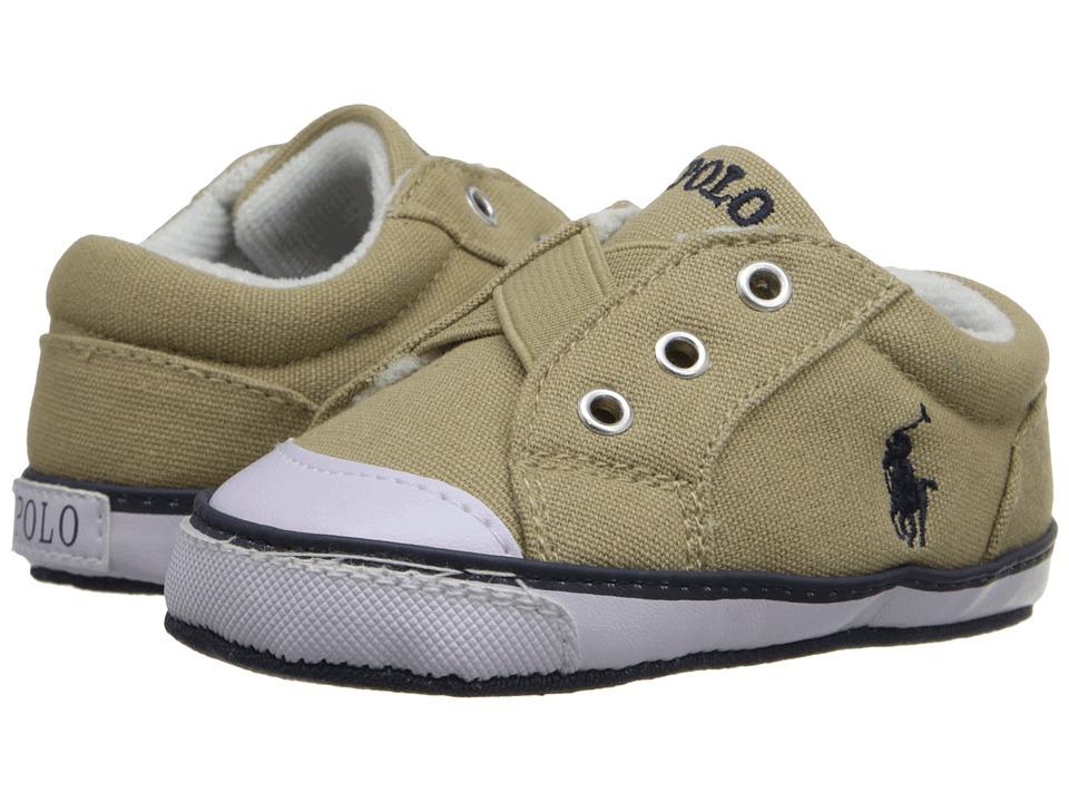 Polo Ralph Lauren Kids - Greggner (Infant/Toddler) (Khaki) Boy's Shoes