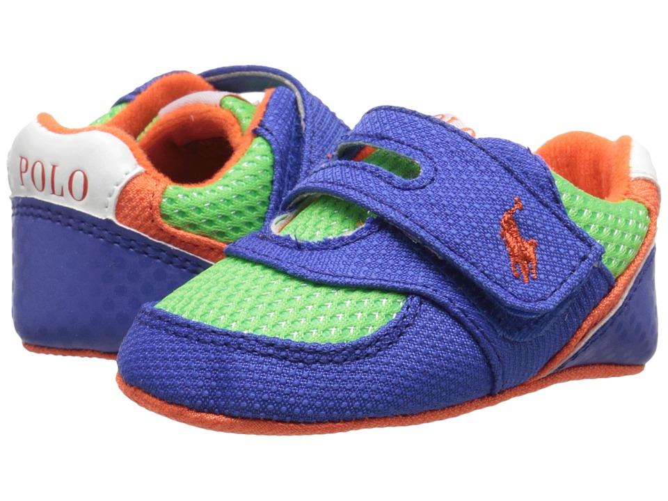 Polo Ralph Lauren Kids - Propel (Infant/Toddler) (Royal/Green/Orange) Boy's Shoes