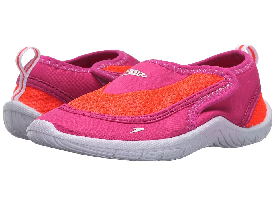 Speedo Kids - Surfwalker Pro 2.0 (Toddler) (Pink/White) Girls Shoes