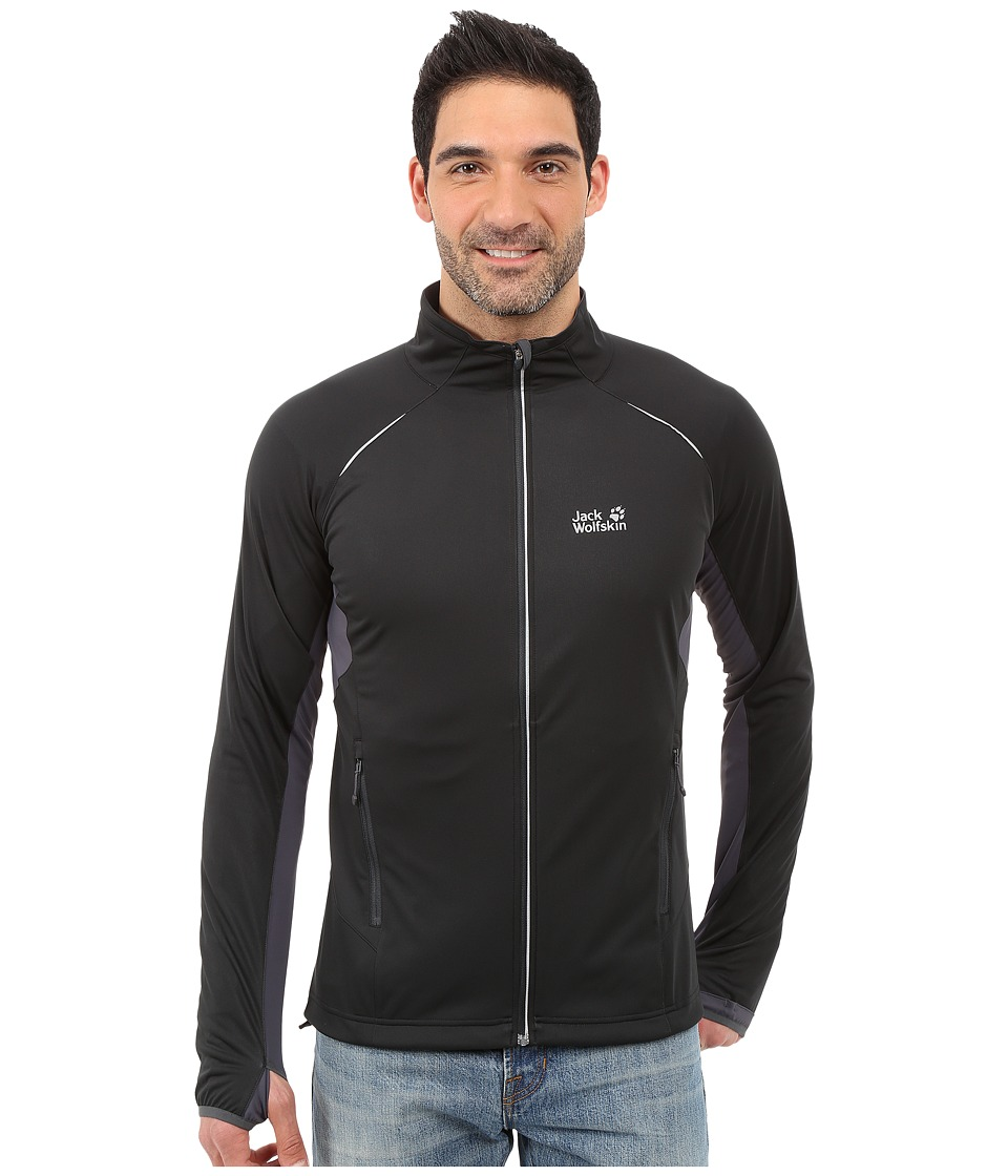 Jack Wolfskin Exhalation Softshell Jacket (Black) Men