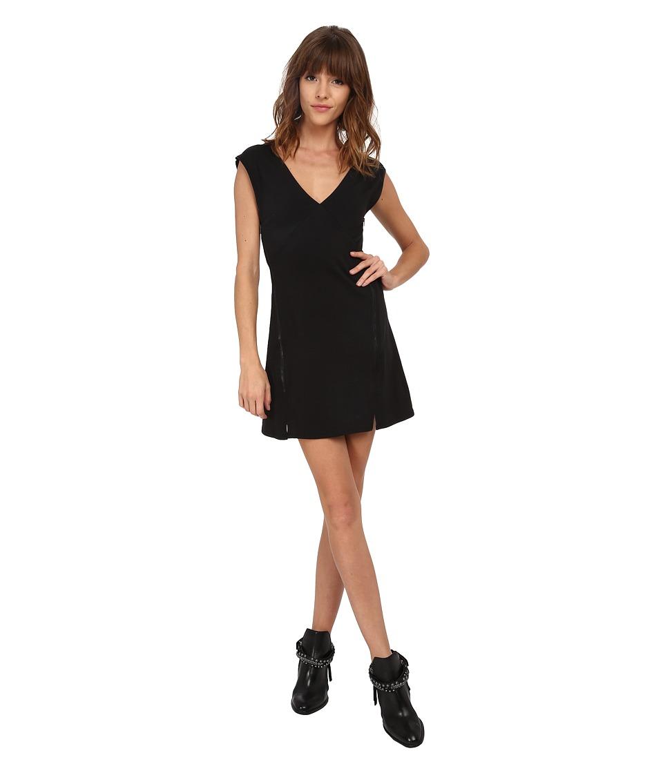 Free People - Olso Shift Dress (Black) Women's Dress