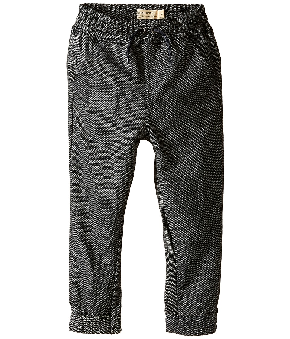 Lucky Brand Kids - Two-Tone Jogger (Little Kid/Big Kid) (Dark Magic) Boy's Casual Pants