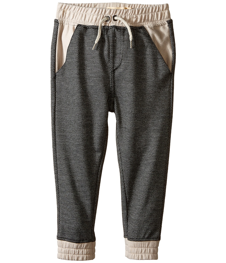 Lucky Brand Kids - Two-Tone Jogger (Toddler) (Dark Magic) Boy's Casual Pants