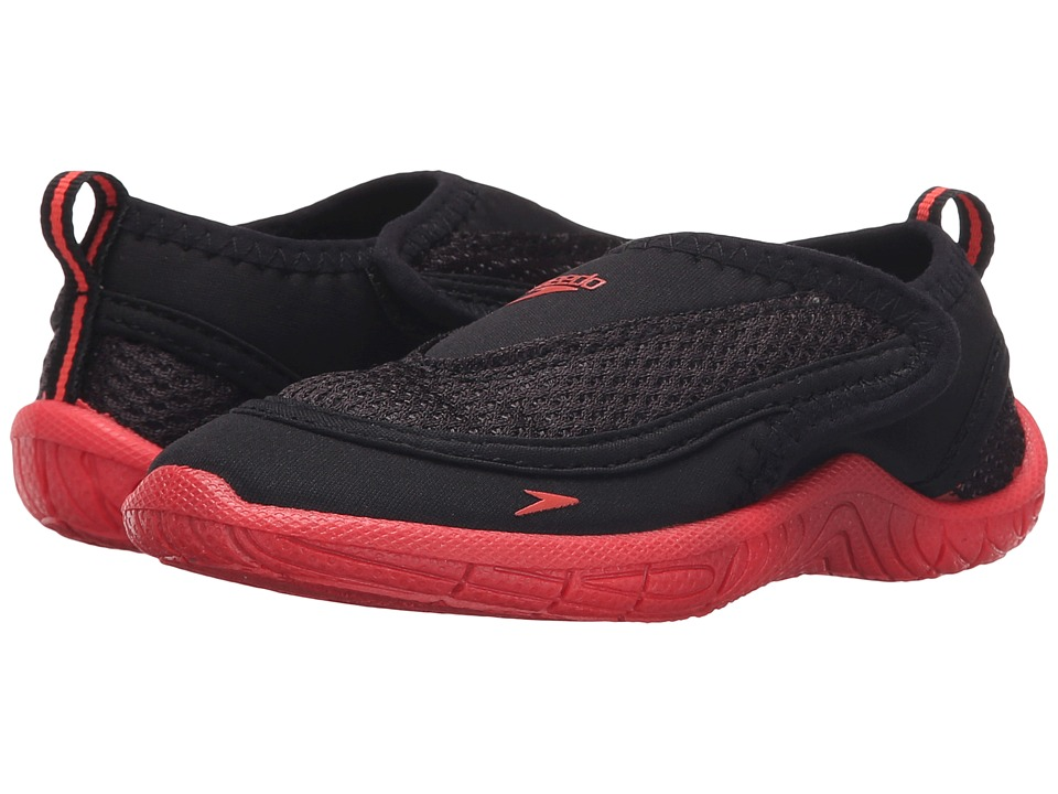 Speedo Kids - Surfwalker Pro 2.0 (Toddler) (Black/Pink) Girls Shoes