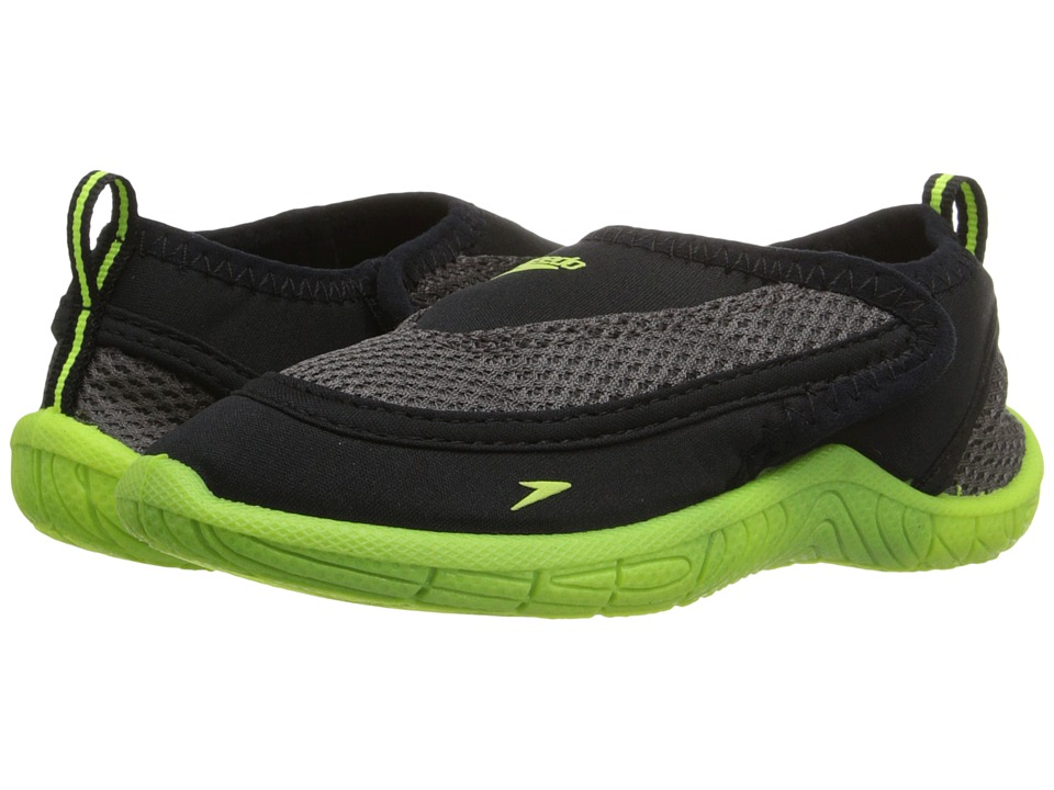 Speedo Kids - Surfwalker Pro 2.0 (Toddler) (Black/Yellow) Boys Shoes