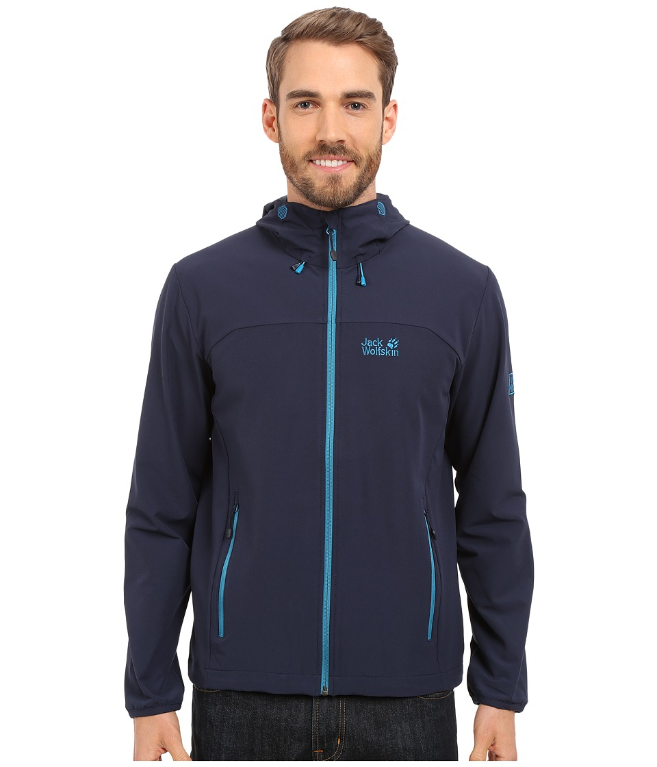 Jack Wolfskin Turbulence Jacket (Night Blue) Men