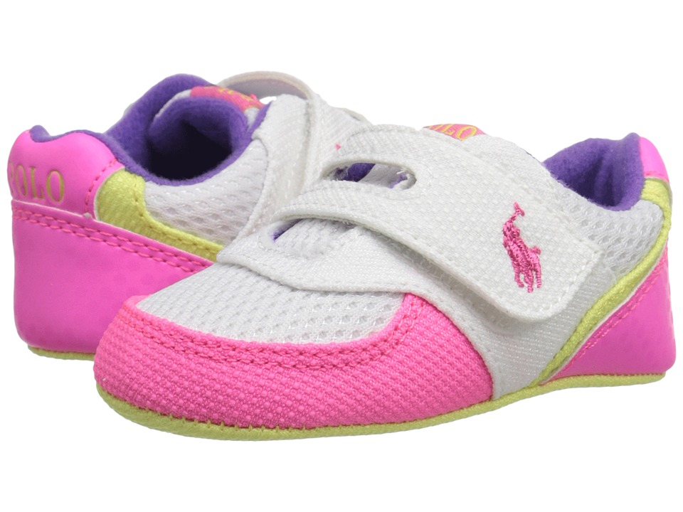 Polo Ralph Lauren Kids - Propel (Infant/Toddler) (Pink/White) Girl's Shoes
