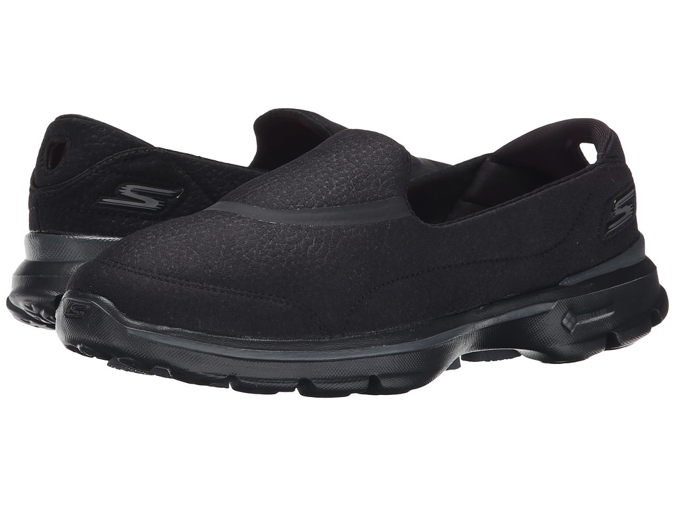 SKECHERS Performance - Go Walk 3 - Revive (Black) Women's Walking Shoes
