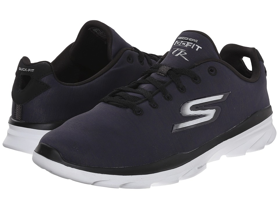 SKECHERS Performance - Go Fit TR (Black/White) Women's Walking Shoes