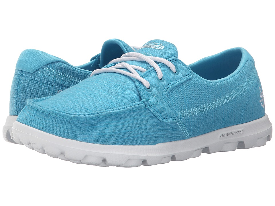 SKECHERS Performance - On The Go - Mist (Turquoise) Women's Lace up casual Shoes